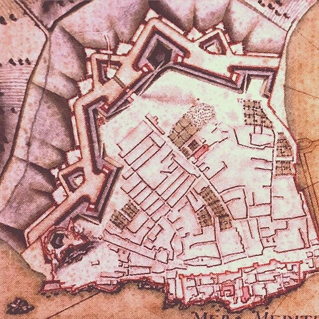 #antibes old map