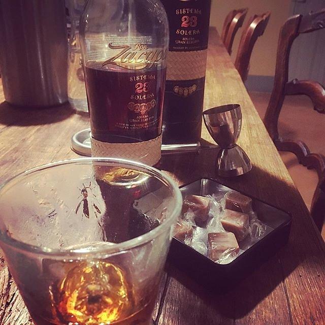 #irish #fudge and #rhum #rum #guatemala #maisonlambot #provence