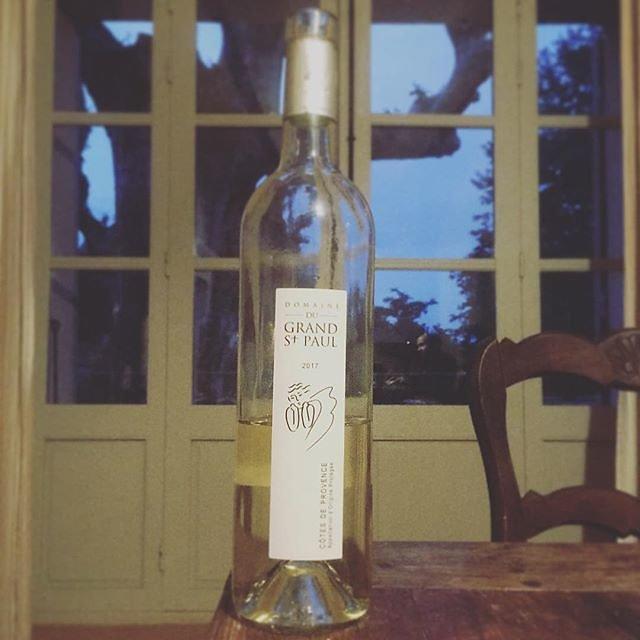 #domainegrandstpaul white wine @maisonlambot