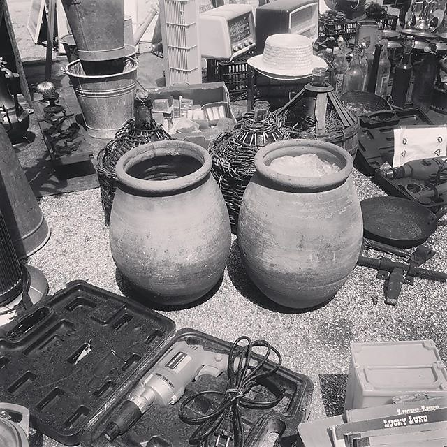 #oliveoil #oil #ceramics #pottery #brocante #fleamarket #carbootsale #provence #france