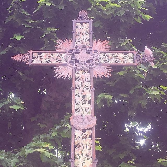 #cross #statue #leval #var #provence #metalart #ironmongery